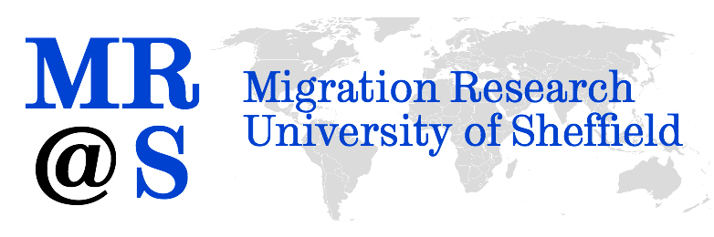Migration Research University of Sheffield logo