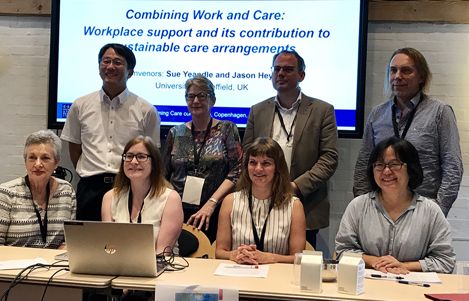 Sustainable Care team presenting at the Transforming Care Conference in Copenhagen