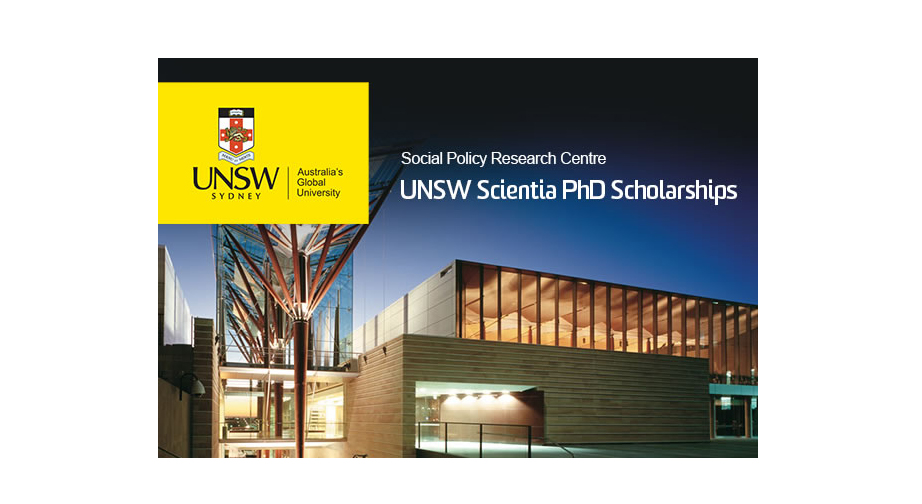 UNSW PhD scholarships promotional poster