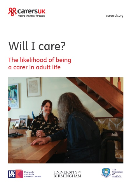 Will I Care report front cover