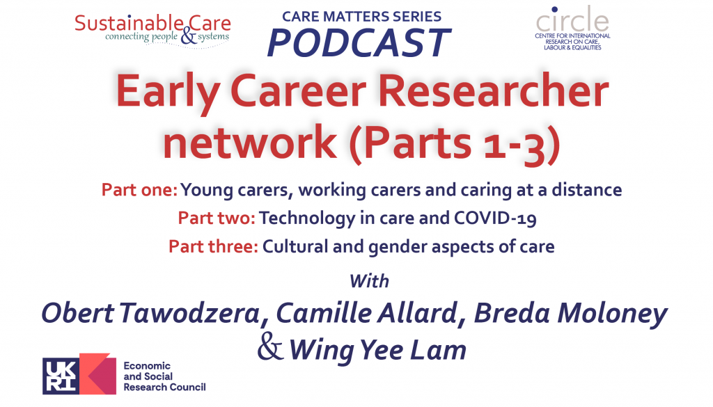 CARE MATTERS podcast: Early Career Researcher Nework