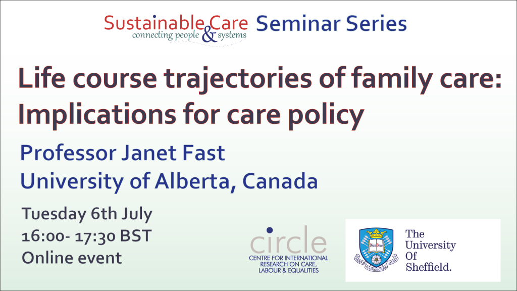Life course trajectories of family care: Implications for care policy