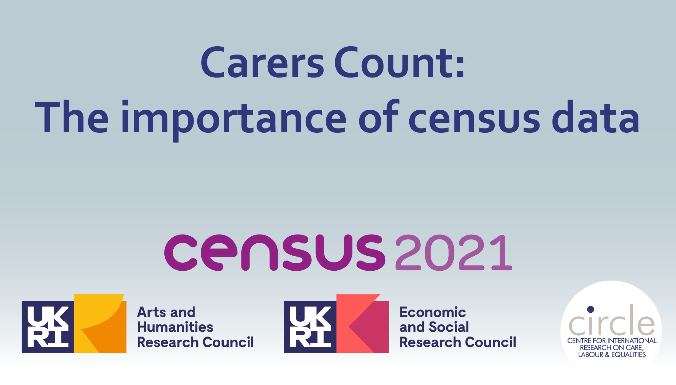 Carers Count: The importance of census data